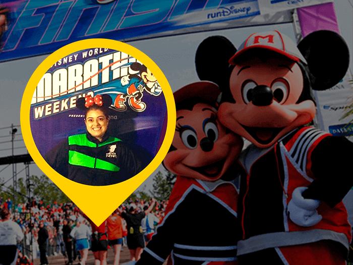 Maratona Disney por Melissa Morais