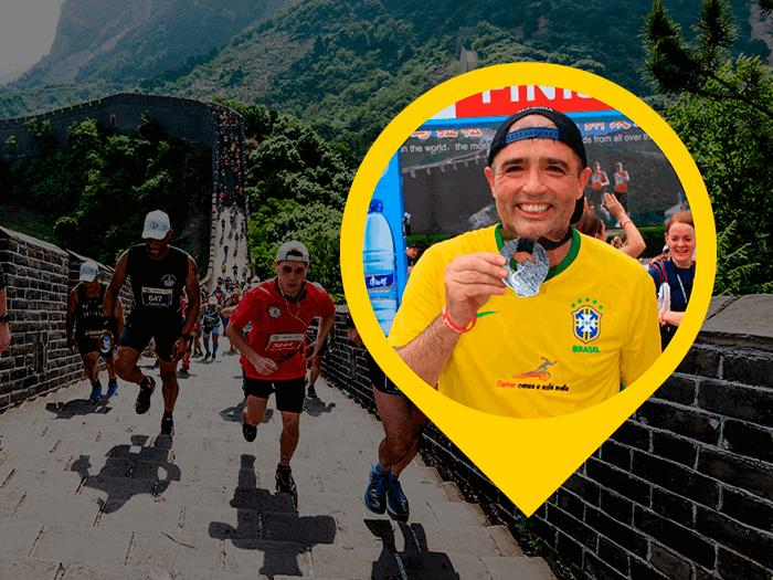 Maratona da Muralha da China Blog Rogerio
