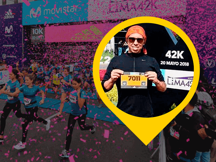 Maratona de Lima por Henrique Almeida