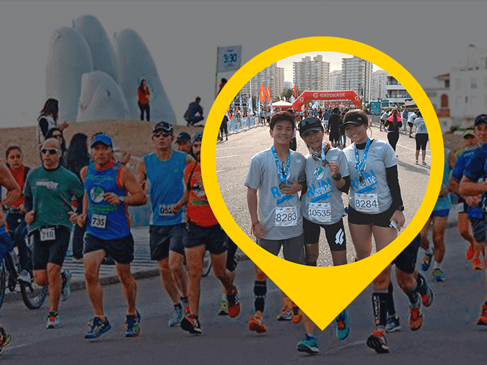 Maratona de Punta por Mário Sugisawa