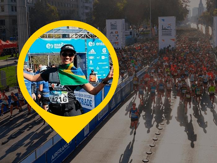 Maratona de Santiago or Cláudia Romero