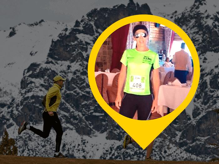 Meia Maratona de Bariloche por Monica Benevides