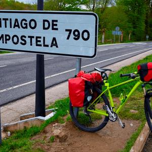 Bike a Santiago de Compostela