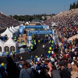 Maratona de Atenas Público